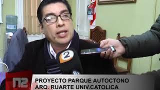 PROYECTO PARQUE AUTOCTONO ARQ RUARTE UNIV CATOLICA