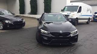 BMW M4 2018 Competition Package, Exhaust Sound, First Ride