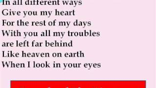 A1 - Forever In Love Lyrics