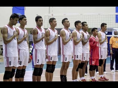Volleyball match Nepal Vs Bangladesh