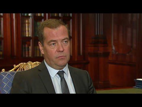 Дмитрий Медведев встретился