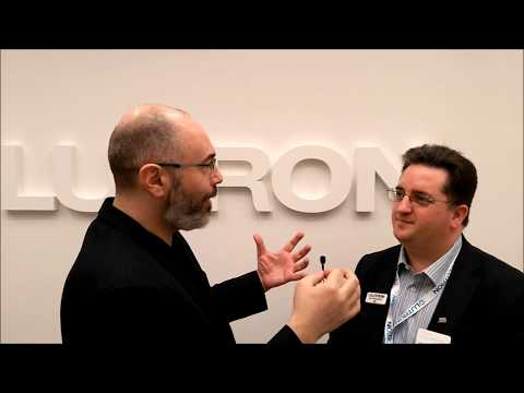 ISE - Integrated Systems Europe 2018 Review of the show and Lutron Booth interview