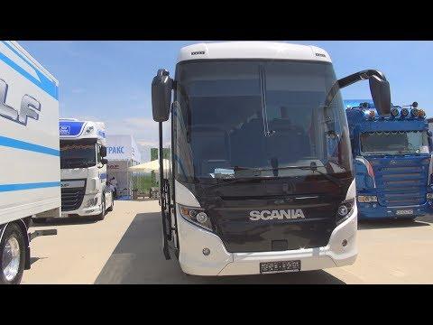 Scania Touring HD K 410 EB 4x2 NI Euro 6 Bus (2019) Exterior And Interior