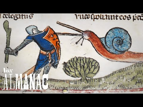 Thumbnail: Why knights fought snails in medieval art