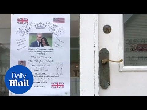 Falkland Island prepared to celebrate Prince Harry's wedding - Daily Mail