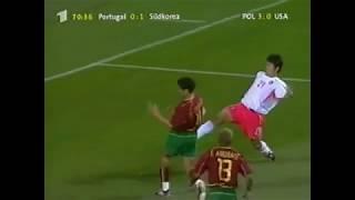 Poturgal vs South Korea Group D World cup 2002