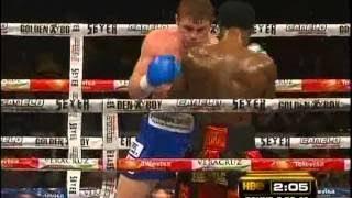 Saul Canelo Alvarez vs Lovemore Ndou