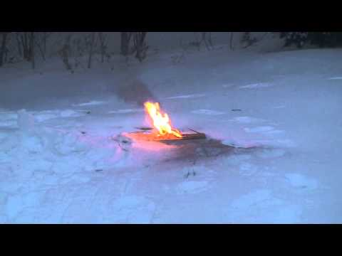 Lithium Battery Explosion