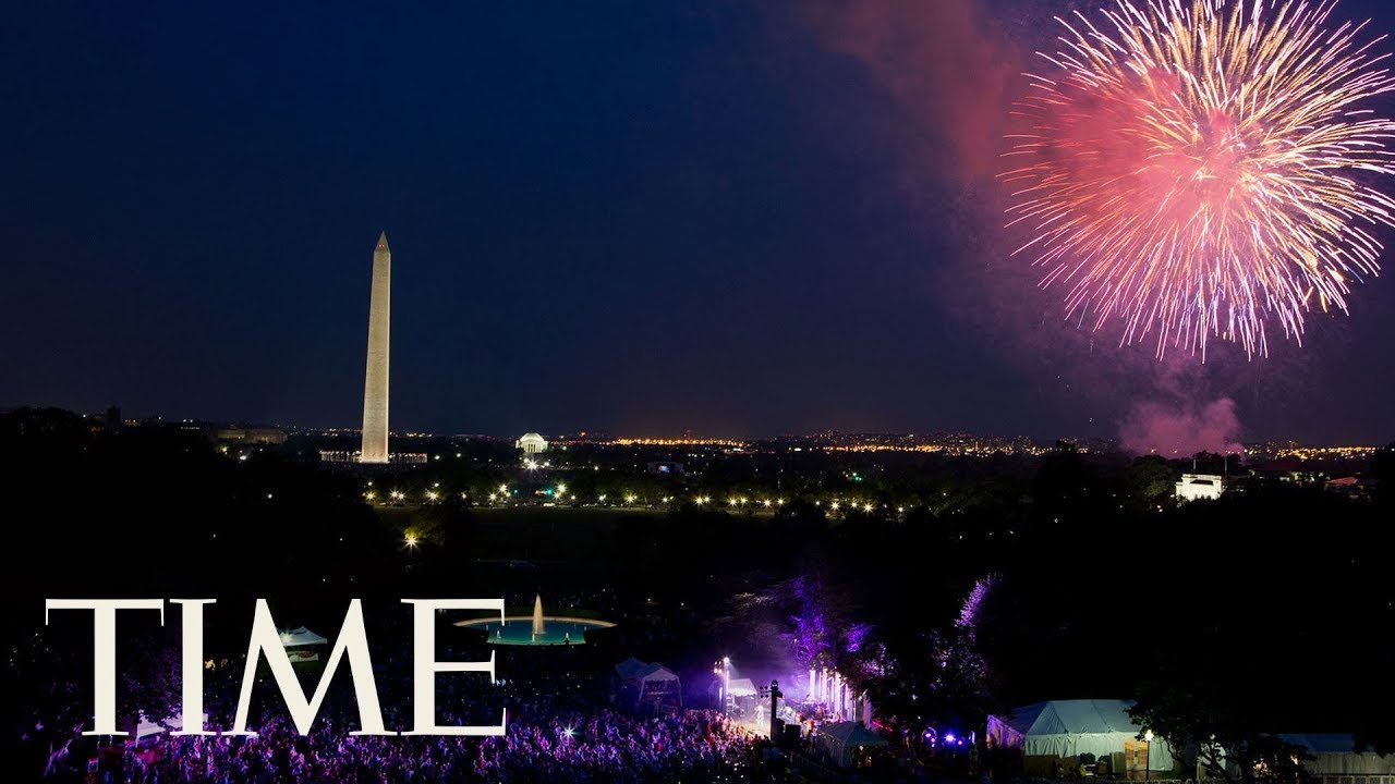 Fireworks From The White House Lawn To Celebrate ...