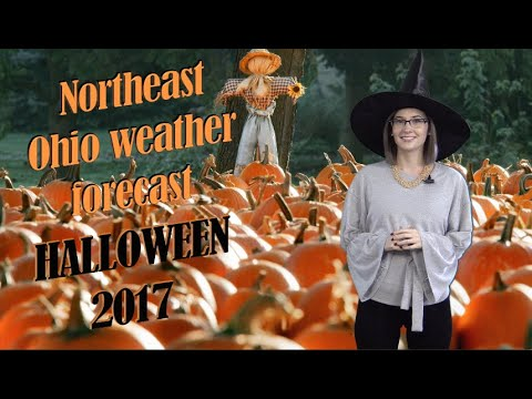 Tuesday afternoon update on trick-or-treat Halloween weather in Northeast Ohio (video)