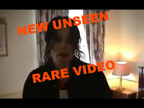 NEW UNSEEN - VIDEO RARE - MICHAEL JACKSON