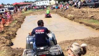 2014 Pioneer Days Four Wheeler Mud Races