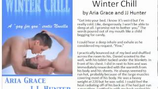 winter chill by aria grace and jj hunter explicit excerpt from the m m novel