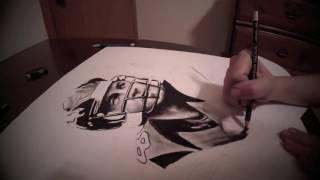 Peyton Manning Drawing