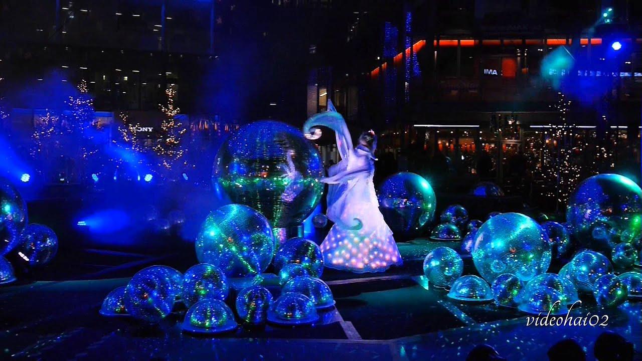 Die Lichter - Fee vom Sony-Center , spektakuläre Lichtshow im ...