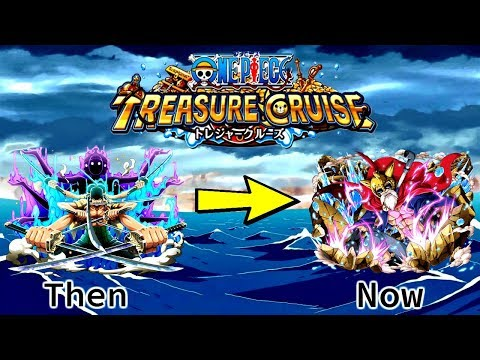 Best Captains Of All Time!!   Evolution Of One Piece Treasure Cruise