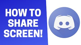 How to Share Screen on Discord! (PC/Laptop/Mac)