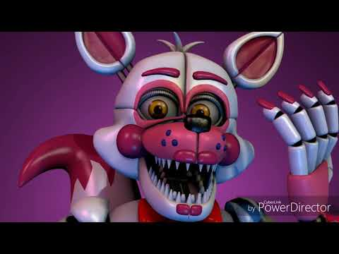 Mangle, Funtime Foxy and Lolbit sings can you survive [FNaF]