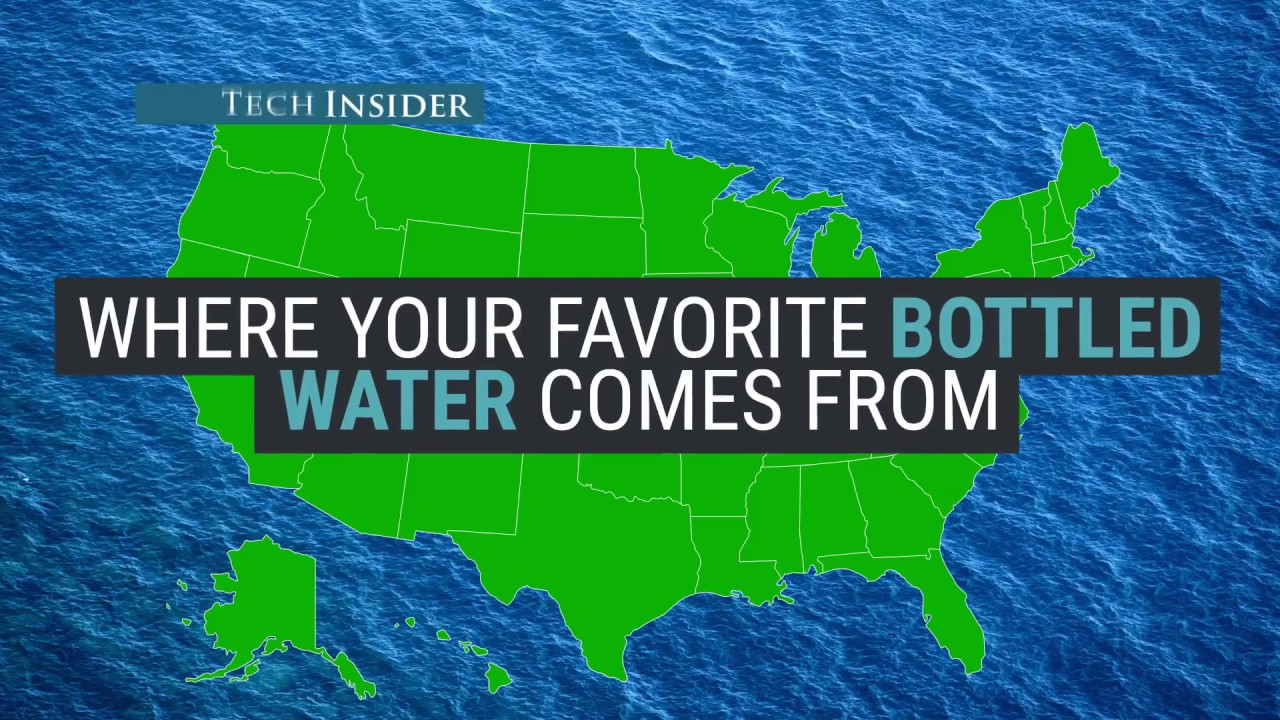 Where does bottled water come from? - YouTube