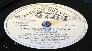 Sweethearts On Parade - Lionel Hampton And His Orchestra (RCA Victor Promo)