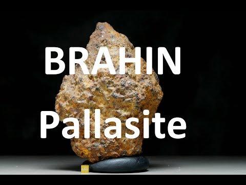 METEORITES360° - Pallasite BRAHIN from Belarus 5.3kg