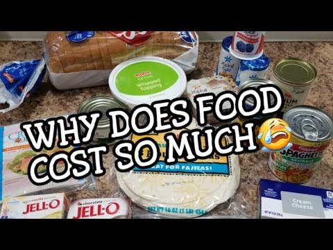 Why Does Food Cost So Much?! - HyVee Grocery Hauls - Food Haul - The Chocolate Syrup Mess...