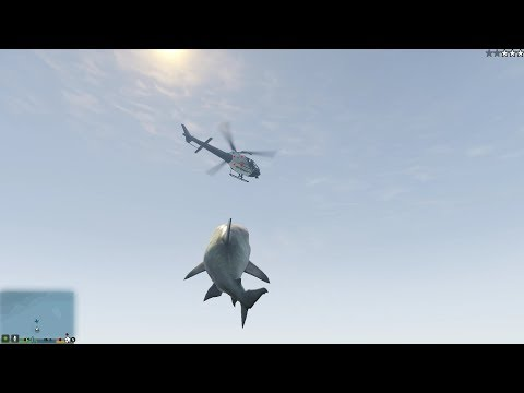 GTA 5 - Shark Script Mod (Maneater/Jaws Unleashed Inspired)