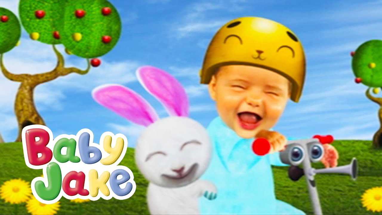 Baby Jake - The Fun Scooter Ride - YouTube