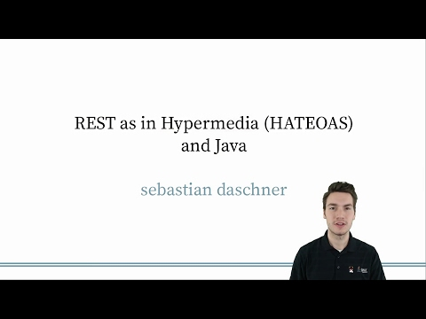 Intro - REST as in Hypermedia with Java