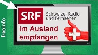 SRF Live Stream & Mediathek im Ausland schauen (2020)