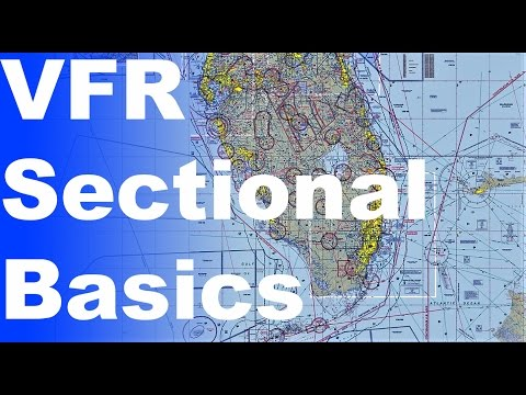 Ep. 34: How to read a VFR Sectional Chart | Basic Chart/Map Knowledge