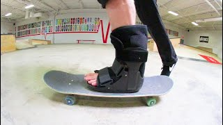 "YOU MUST SKATEBOARD ""INJURED"" / Warehouse Wednesday"