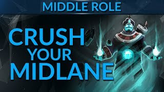 How to Harass & DOMINATE Your Midlane! | Dota 2 Guide
