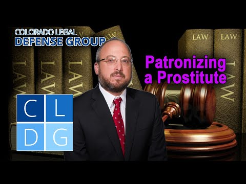 """Crime of """"patronizing a prostitute"""" in Colorado – Can I go to jail?"""