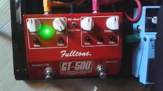 review fulltone gt 500