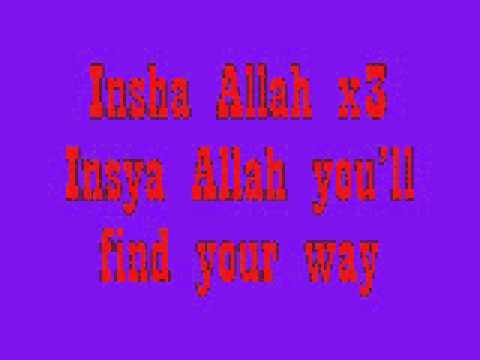 insya Allahlyrics maher zein  diah