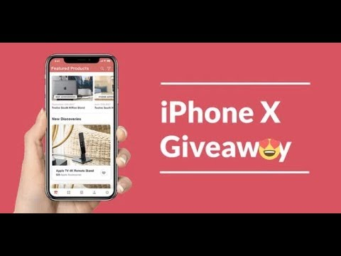 YOUTUBE IPHONE X GIVEAWAY