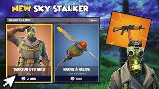 "ACHAT OF THE BOUTIQUE WITH THE NEW SKIN ""SKY STALKER"" - NEW ARME ""AKS-74U"" On FORTNITE!"