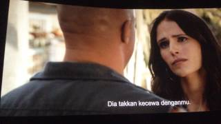 Fast & Furious 7 - house explosion scene