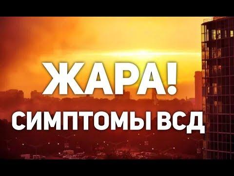СИМПТОМЫ ВСД| жара и всд| КАРДИОФОБИЯ - YouTube