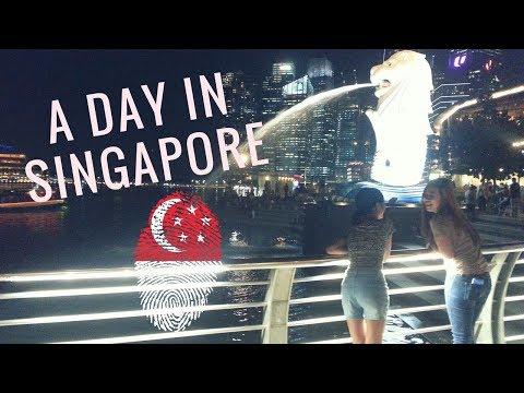 Spending 10 hours in Singapore | Haji Lane, Merlion Park, Makansutra Gluttons Bay