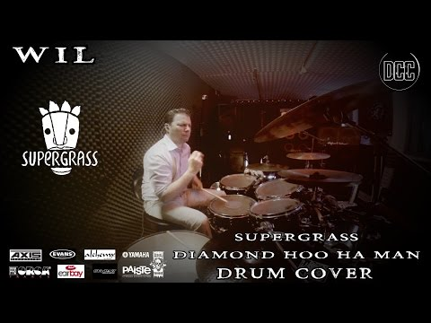 SUPERGRASS - DIAMOND HOO HA MAN | Drum Cover By WIL