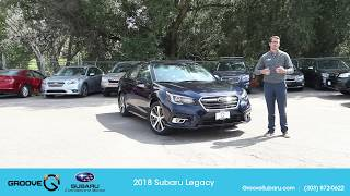New 2018 Subaru Legacy 3.6R Limited is here!