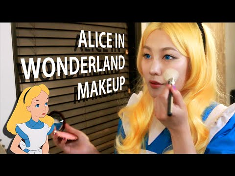 Alice in wonderland makeup collection