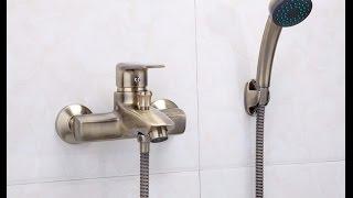 Обзор смесителя FRAP F3030-4 для ванны, бронзовая античность