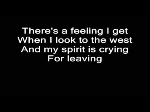Led Zeppelin - Stairway To Heaven. Guitar&Vocal Backing Track+Lyrics