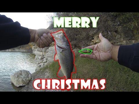 Bass fishing on the eve of christmas
