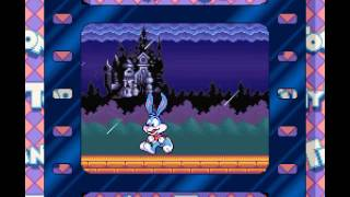 Tiny Toons Adventures - Buster Busts Loose | SNES | Playthrough
