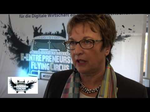 EEFC14 Berlin: Interview mit Brigitte Zypries