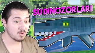 SU DİNOZORLAR N  TOPLAD K DinozorCraft Bölüm 12 Minecraft
